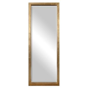 Edmonton Gold Leaner Mirror