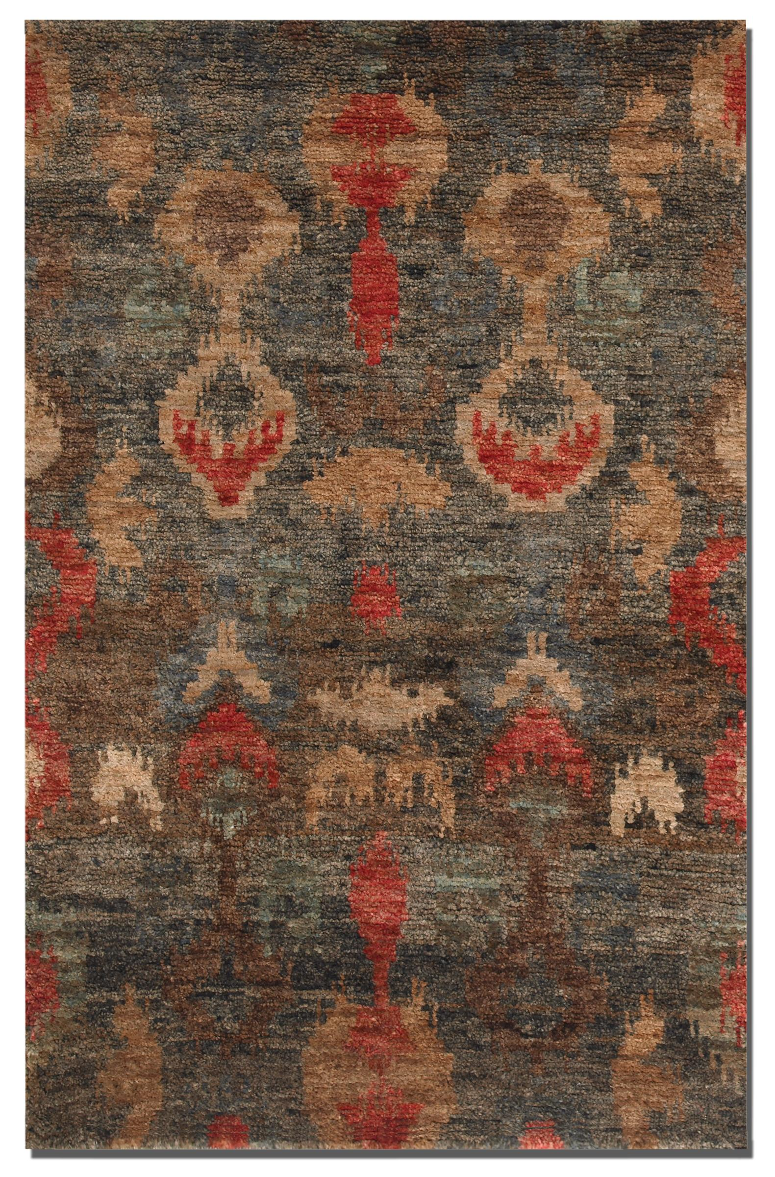 Uttermost Rugs Java 6 X 9 Ikat - Item Number: 70006-6