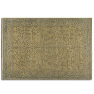 Uttermost Rugs Bankura 6 X 9 Rug - Pale Gold