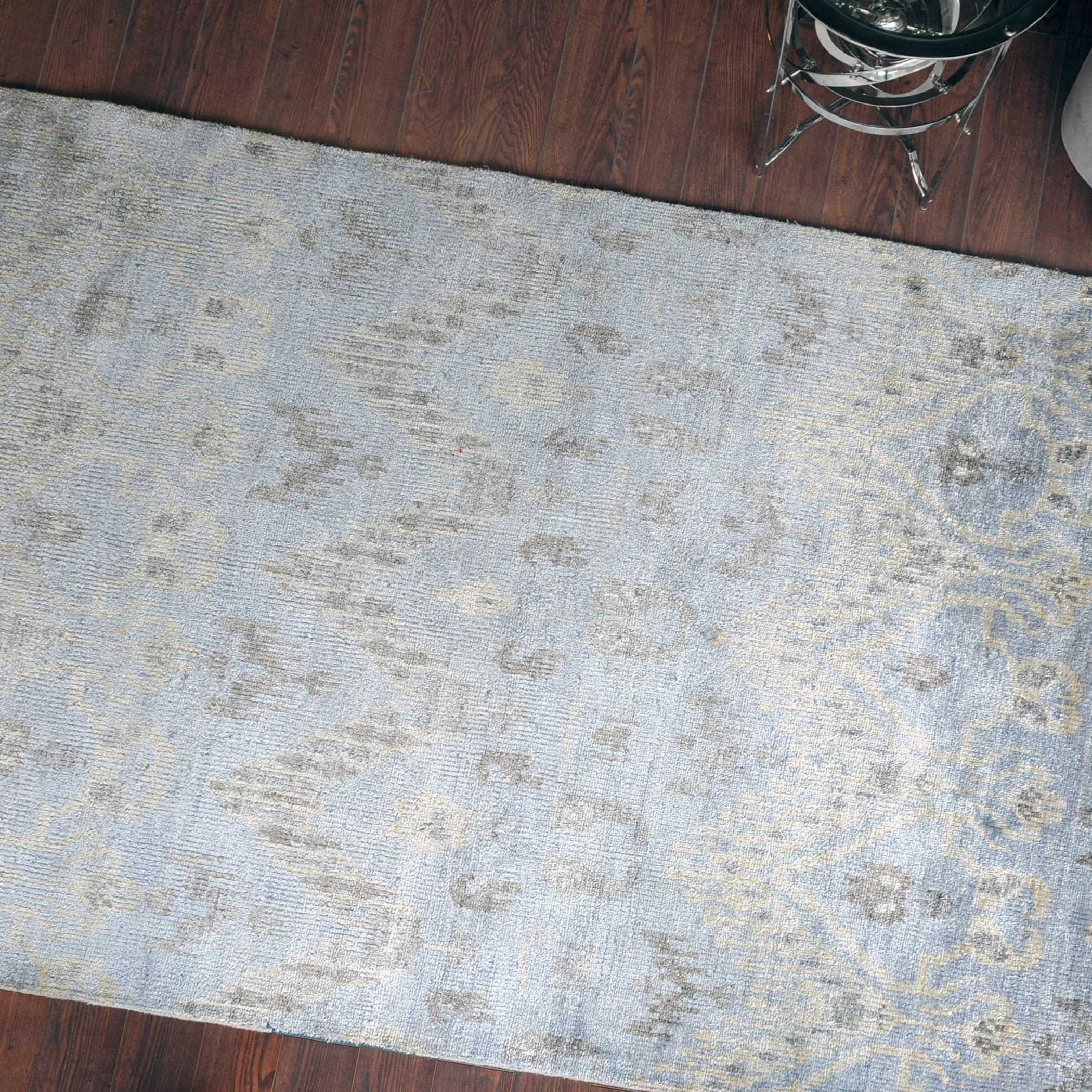 Uttermost Rugs Madeira Pale Blue 6 X 9 Rug Wayside