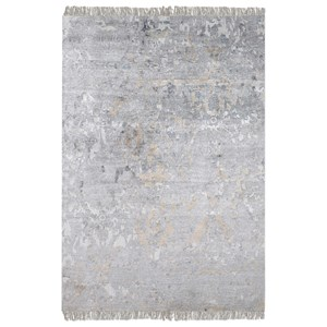 Uttermost Rugs Bhutan Gray 8 x 10 Rug