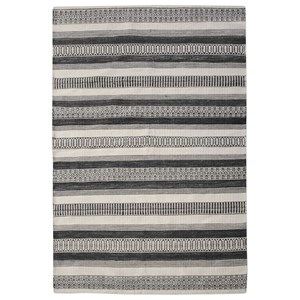 Uttermost Rugs Scottia Charcoal 9 x 12 Rug