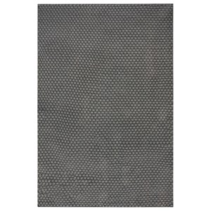 Uttermost Rugs Lydus Dark Gray 8 x 10 Rug