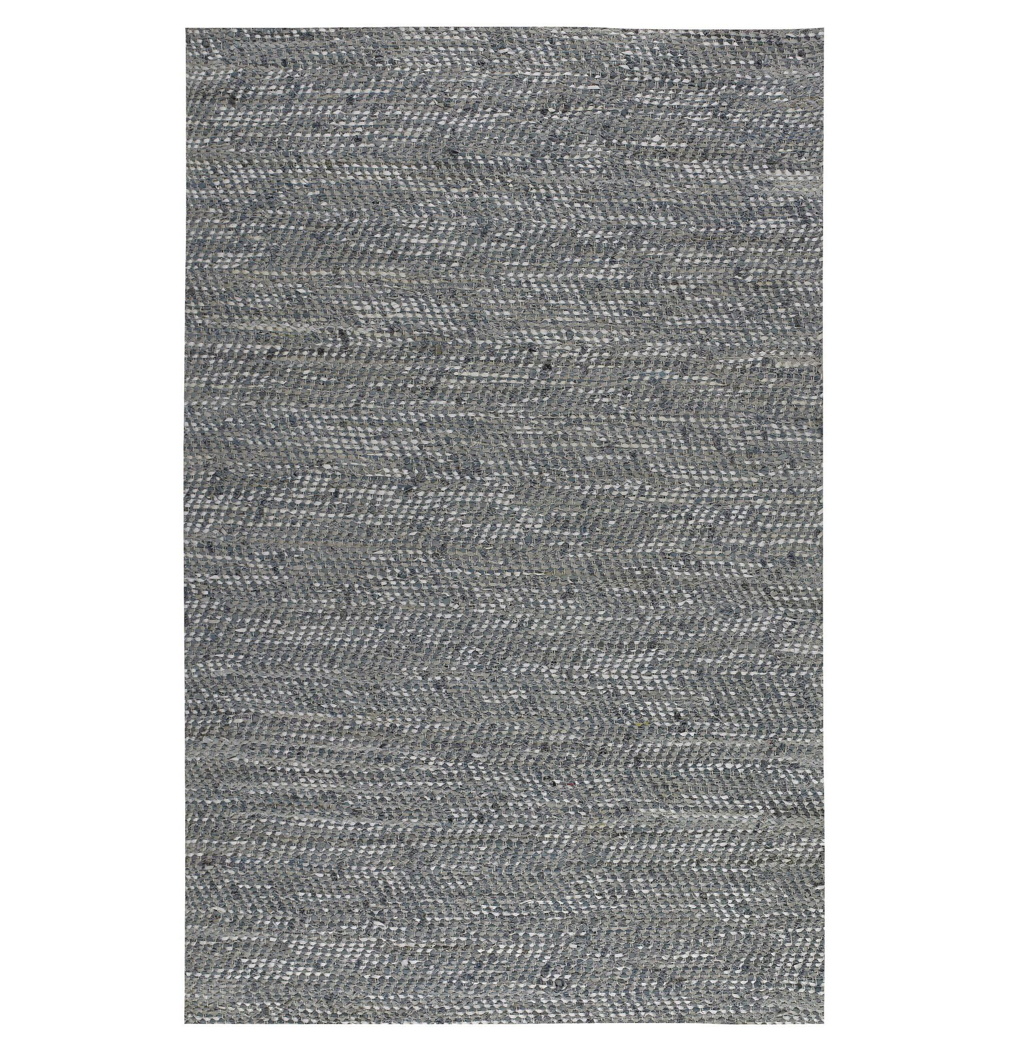 Uttermost Rugs Branson 5 X 8 Woven Rug - Gray Blue - Item Number: 71038-5