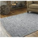 Uttermost Rugs Branson 5 X 8 Woven Rug - Gray Blue