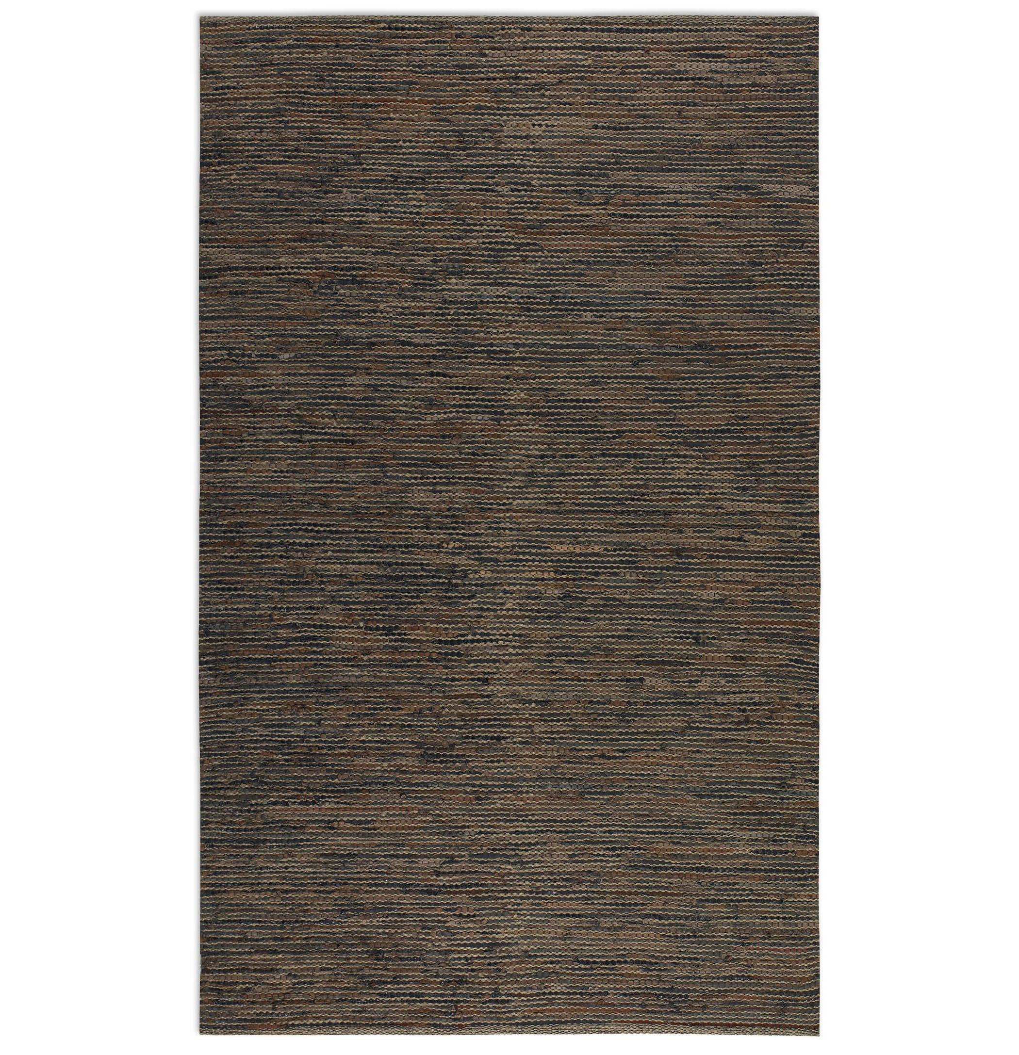 Uttermost Rugs Culver 5 X 8 Rug - Brown Rust - Item Number: 71043-5