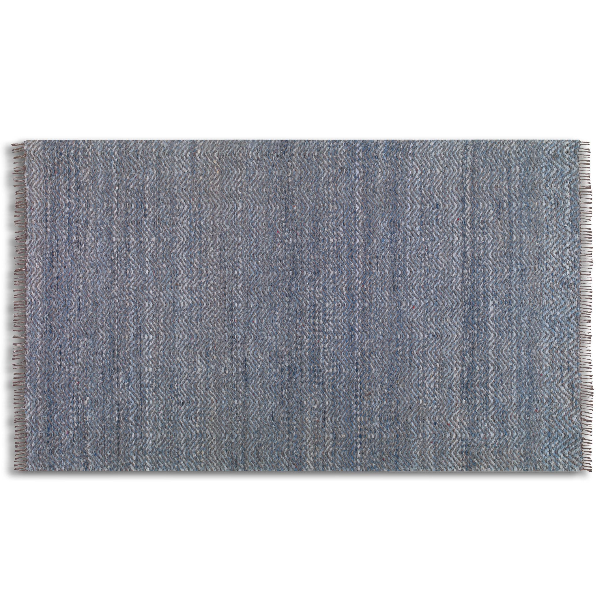 Uttermost Rugs Cascadia 8 X 10 Denim Rug - Item Number: 71048-8