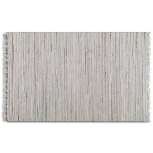 Uttermost Rugs Stockton 5 X 8 Rug - White