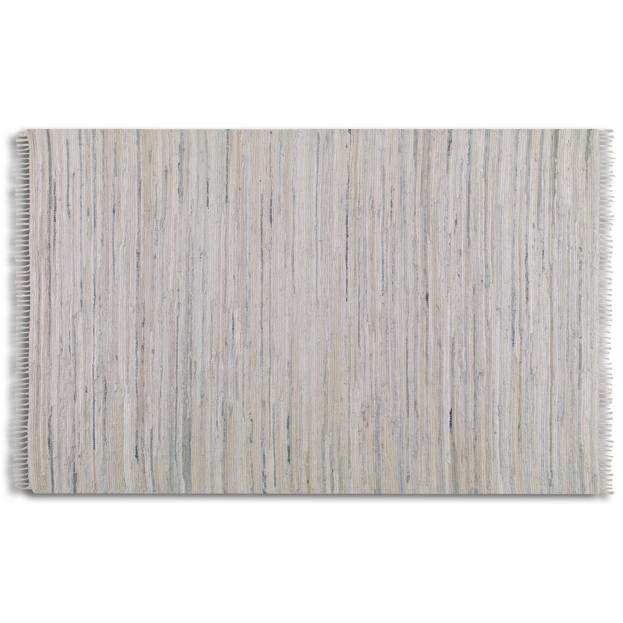 Uttermost Rugs Stockton 8 X 10 Rug - White - Item Number: 71056-8