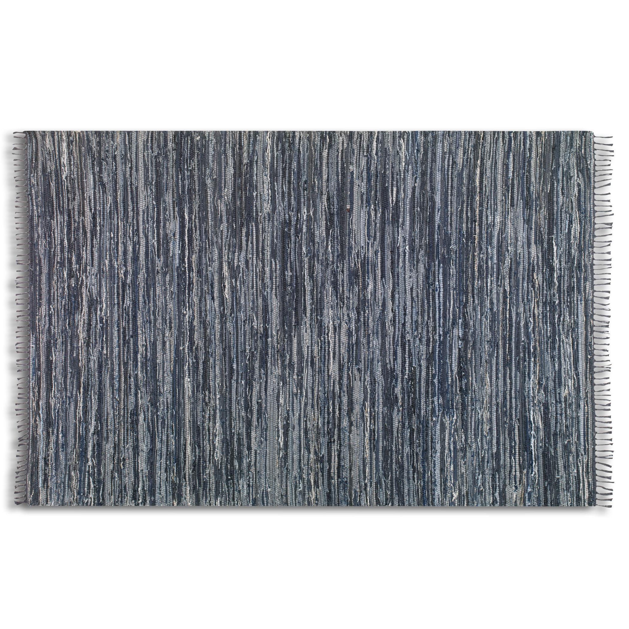 Uttermost Rugs Stockton 8 X 10 Rug - Black - Item Number: 71058-8