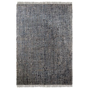 Uttermost Rugs Braymer Charcoal 5 x 8 Rug
