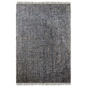 Uttermost Rugs Braymer Charcoal 5 x 8 Rug - Item Number: 71072-5