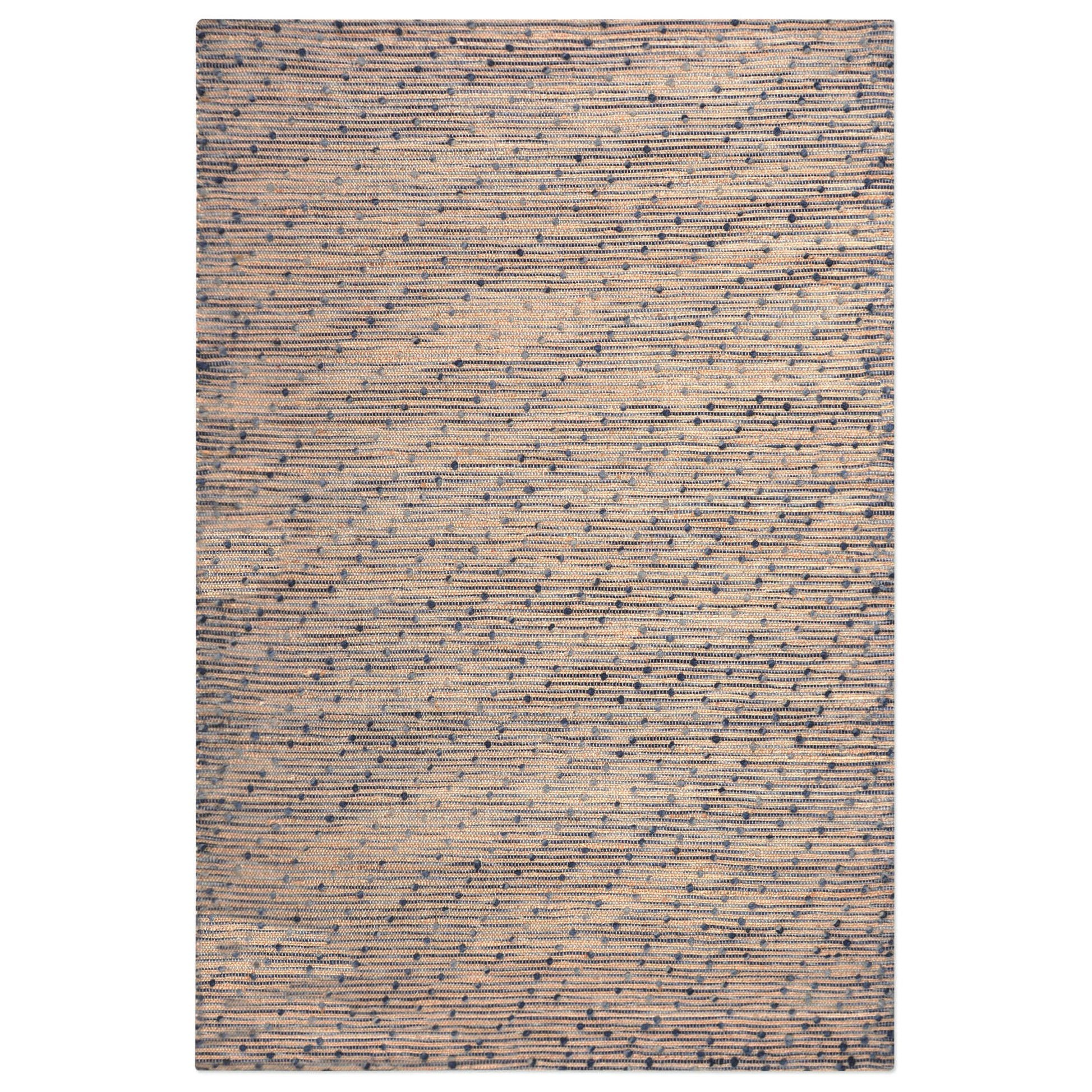 Uttermost Rugs Imara Navy 5 x 8 Rug - Item Number: 71073-5