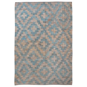 Uttermost Rugs Falco Teal 5 x 8 Rug