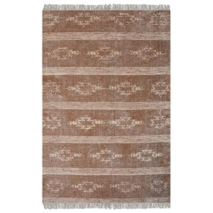 Uttermost Rugs Gamba Brown 8 x 10 Rug