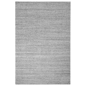 Uttermost Rugs Midas Light Gray 5 x 8 Rug
