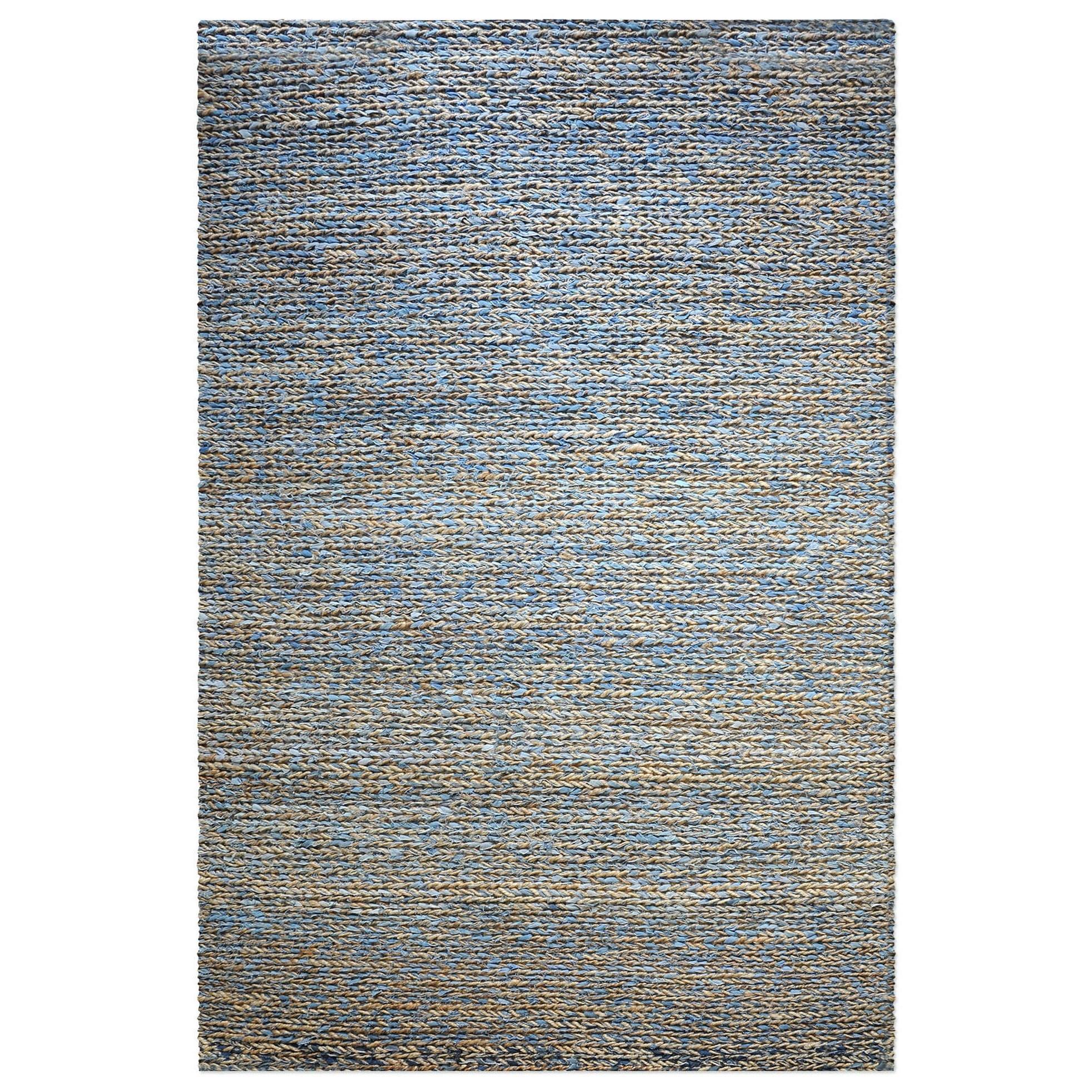 Euston Natural-Blue 9 x 12 Rug