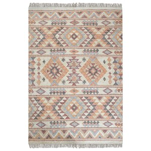 Chaparral Rust Orange 5 x 8 Rug