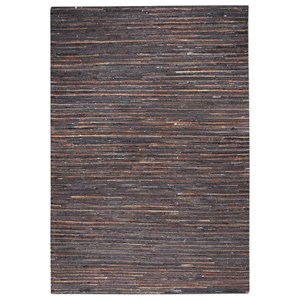 Riviera Dark Brown 5 x 8 Rug