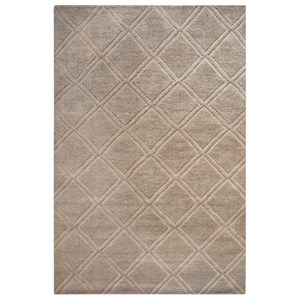 Uttermost Rugs Jovan Natural 5 x 8 Rug