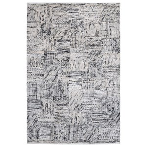 Junction Gray 9 x 12 Rug