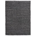 Uttermost Rugs Colemar Charcoal 5 x 8 Rug - Item Number: 71117-5