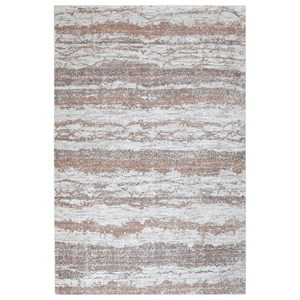 Uttermost Rugs Basilia Brown 5 x 8 Rug