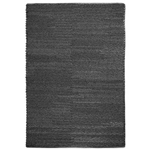 Uttermost Rugs Europa Charcoal 5 x 8 Rug