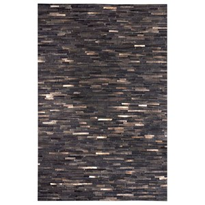 Uttermost Rugs Tiago Dark Brown 8 x 10 Rug