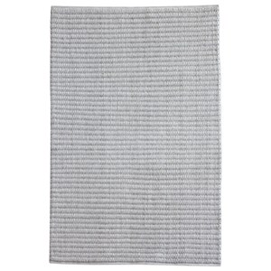 Uttermost Rugs Linea Gray-Ivory 5 x 8 Rug