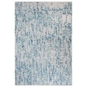 Uttermost Rugs Mojito Gray-Blue 5 x 8 Rug - Item Number: 71136-5