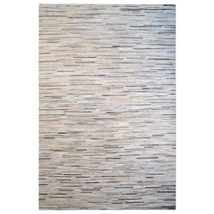 Uttermost Rugs Livia Pearl-Gray 5 x 8 Rug