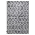 Uttermost Rugs Jucar Gray 8 x 10 Rug - Item Number: 71140-8