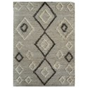 Uttermost Rugs Alvy 5 X 8 Tribal Rug - Item Number: 71146-5