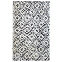 Uttermost Rugs Amuza Diamond 8 X 10 Rug - Item Number: 71148-8