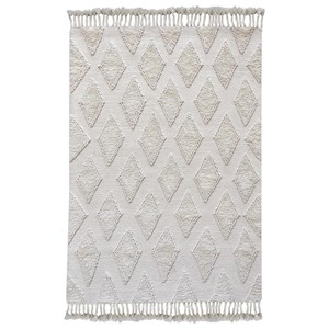 Uttermost Rugs Favio Ivory 5 X 8 Rug
