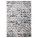 Uttermost Rugs Bethea Gray 5 X 7 Rug - Item Number: 71500-5