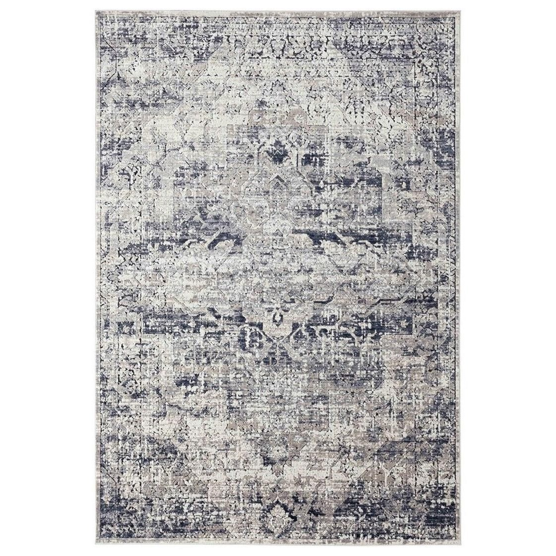 Rugs Bethea Gray 7 X 9 Rug by Uttermost at Adcock Furniture