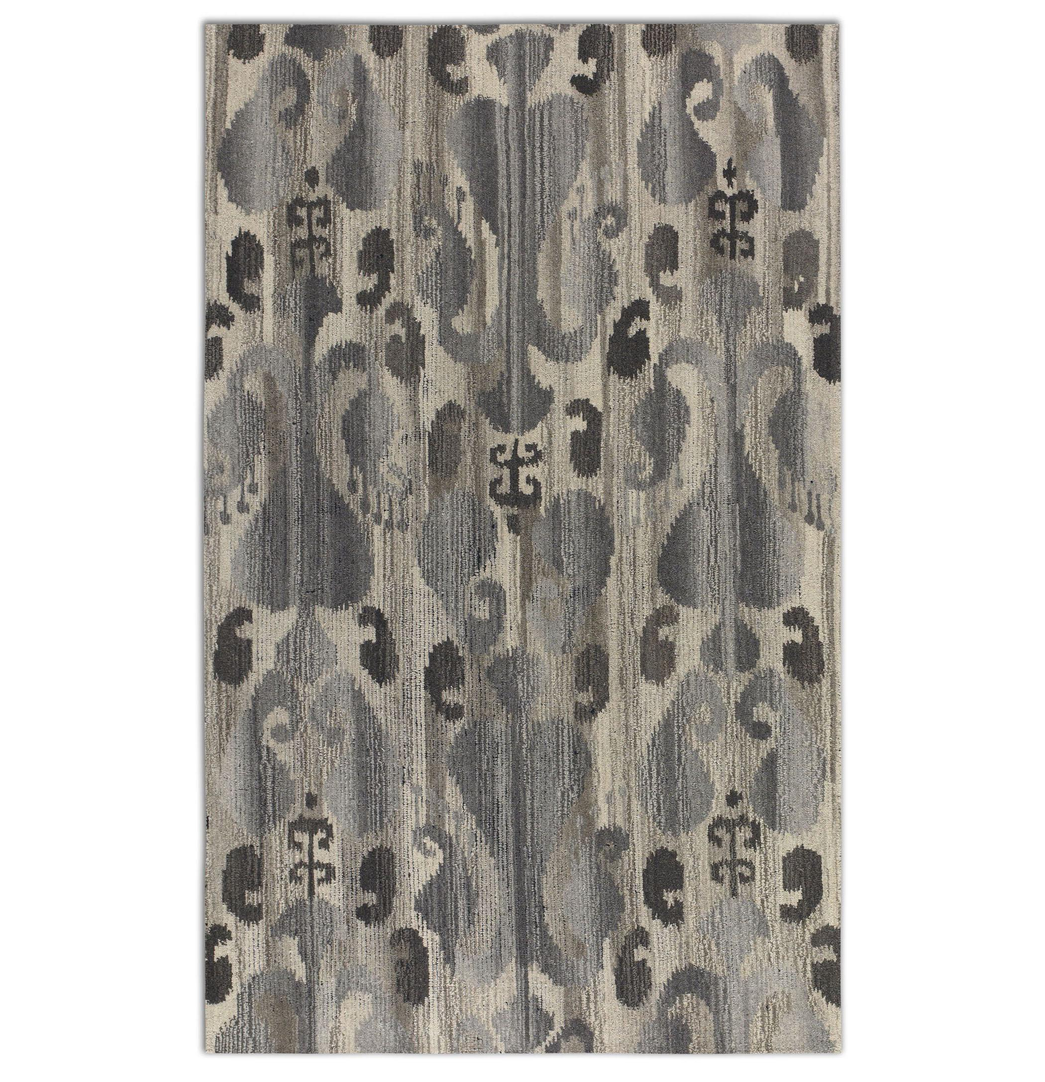 Uttermost Rugs Sepino 5 X 8 Rug - Gray - Item Number: 73048-5