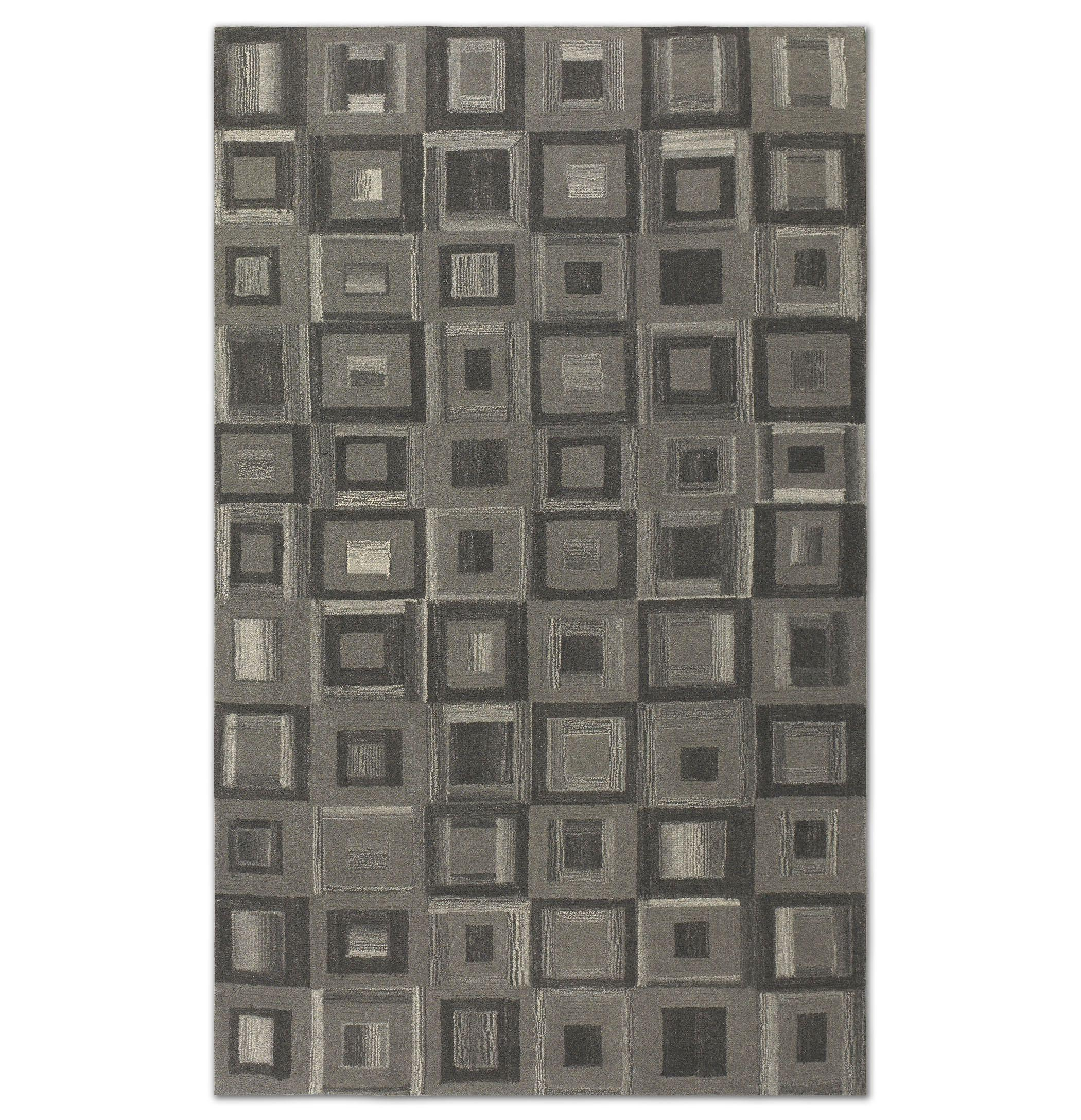 Uttermost Rugs Matrice 8 X 10 Rug - Gray - Item Number: 73054-8