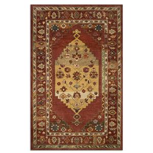 Uttermost Rugs Estelle 5 X 8 Rug - Red