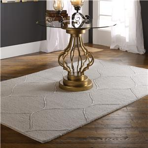 Uttermost Rugs Larache 5 X 8 Rug - Light Beige