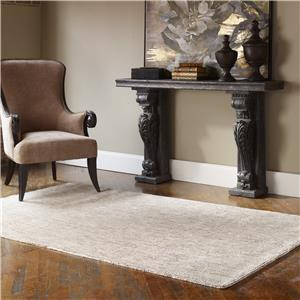 Uttermost Rugs Ciottoli 8 X 10 Rug - Light Beige