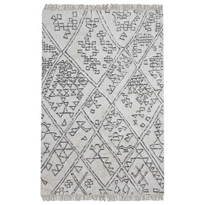 Uttermost Rugs Campo Ivory 5 x 8 Rug