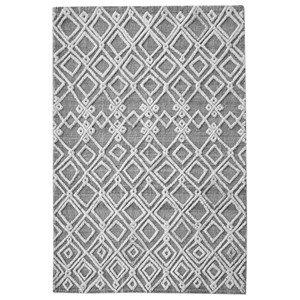 Uttermost Rugs Sieano Gray-Ivory 9 x 12 Rug