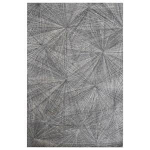 Uttermost Rugs Keren Gray 8 x 10 Rug