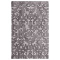 Uttermost Rugs Ebro Gray 8 x 10 Rug - Item Number: 73073-8