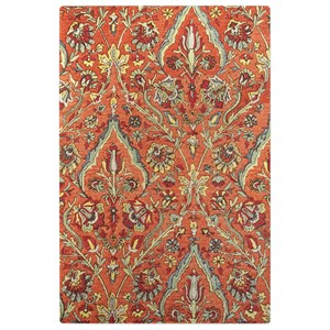 Uttermost Rugs Keziah Burnt Red 9 x 12 Rug