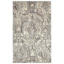 Uttermost Rugs Clairmont Natural 5 x 8 Rug - Item Number: 73076-5