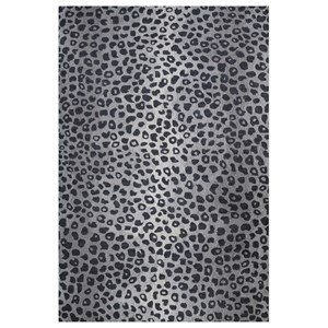 Uttermost Rugs Virunga Gray 5 x 8 Rug